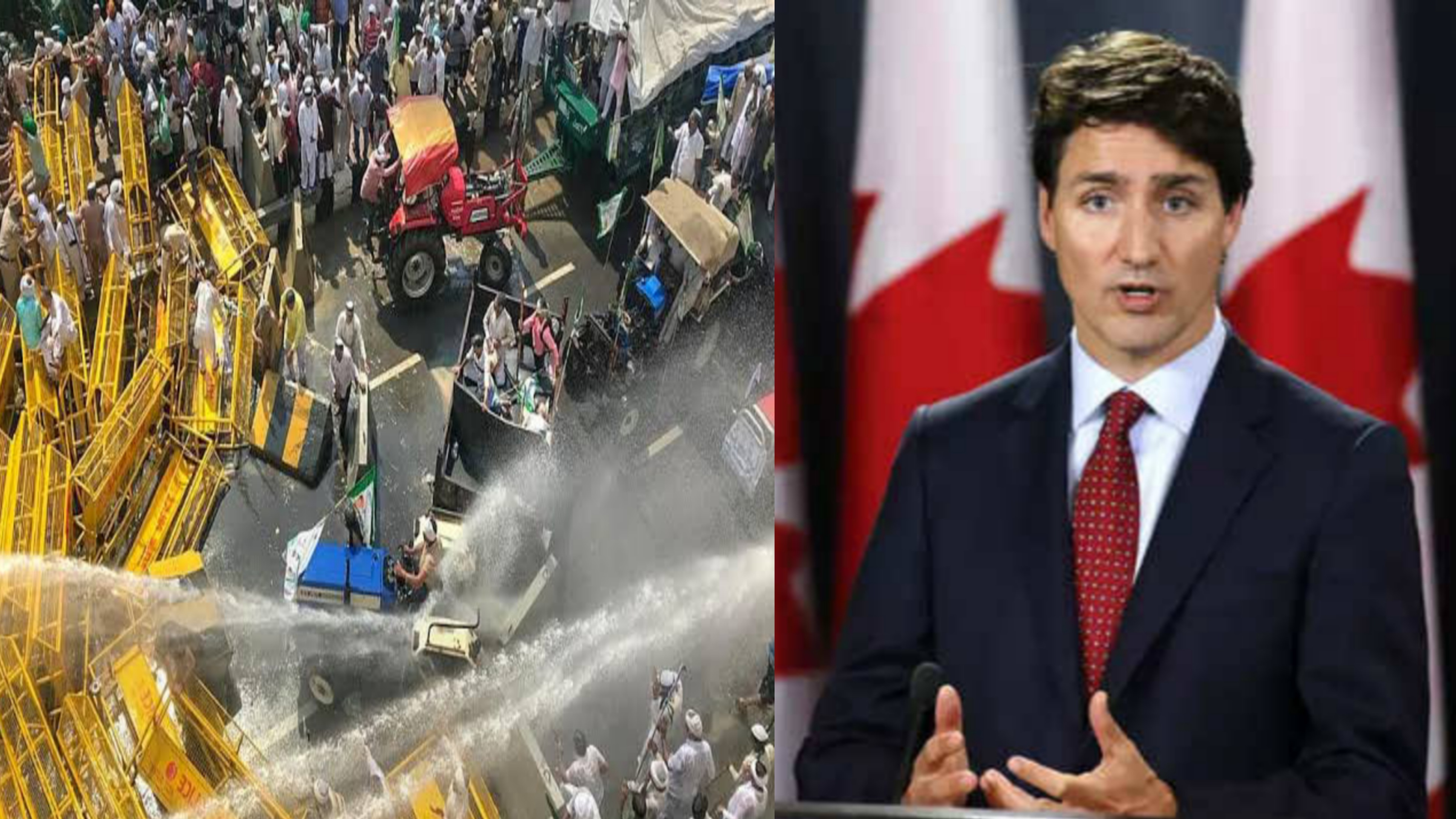 Canadian Prime Minister Justin Trudeau on farmers protest in India